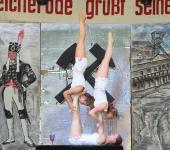 Artistikstudio TOLEDOS beim Bergmannsfest Bleicherode