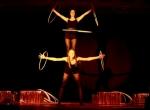 Hula-Hoop - Black & Gold