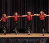 Einrad Show